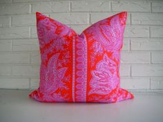 Decorative Pillow Cover  Colorful Indian Throw by habitationBoheme, $35.00