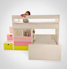 Nido´s bedroom for kids. Design by Valeria Tamayo