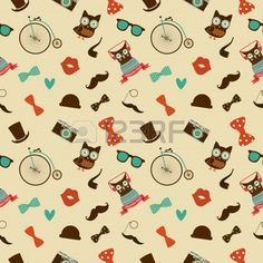24163731-vector-hipster-doodles-colorful-seamless-pattern-sfondo.jpg (900×900)