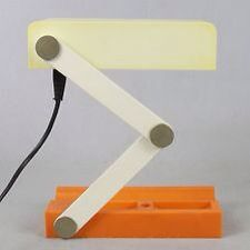 Giotto Stoppino folding lamp for CANDLE (Fontana Arte)