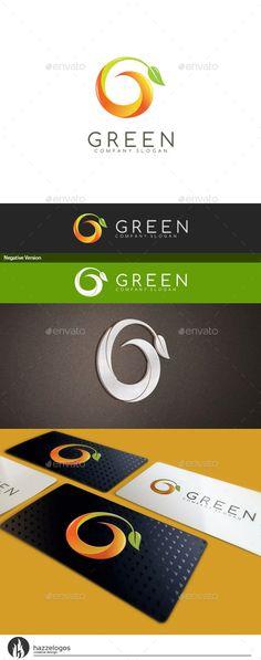 Green Letter G - Logo Design Template Vector #logotype Download it here: http://graphicriver.net/item/green-letter-g-logo/10414137?s_rank=1462?ref=nexion