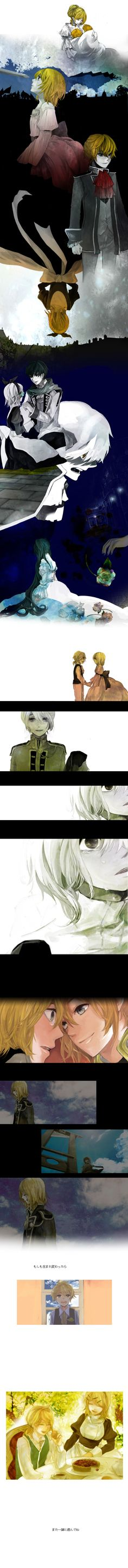 "/Story of Evil/#589697 - Zerochan | Kagamine Rin & Len's ""Daughter of Evil/Servant of Evil"""