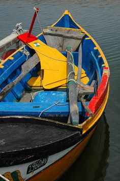 Torreira small fishing boat, Portugal
