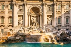 Picture of Fountain di Trevi, Rome stock photo, images and stock photography. Beautiful World, Beautiful Places, Beautiful Sites, Trevi Fountain Rome, Iron Gates, Fine Art America, Taj Mahal, Around The Worlds, Photography