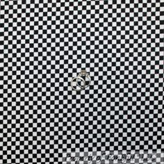 BonEful FABRIC Flannel Cotton Quilt Black White STRIPE Gingham Check Boy L SCRAP #RileyBlakeDesigns