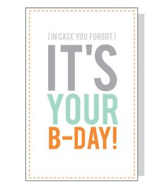 9 Free Printable Birthday Cards That Look Like You Bought Them: Free, Printable Birthday Card from Design Eat Repeat