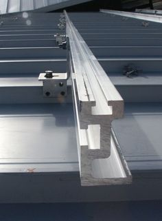 solar panels standing seam metal roof - Google Search