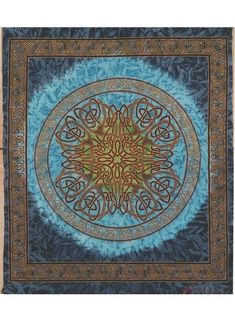 Celtic Circle, Celtic Heart, Home Decor Boxes, Wheel Of Life, Beach Blanket, Picnic Blanket, India Art, Ceiling Decor, Queen