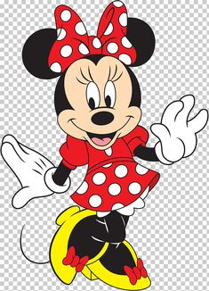 This PNG image was uploaded on April am by user: klippschliefer and is about Art, Artwork, Cartoon, Character, Clip Art. Mickey Mouse Wall Decals, Arte Do Mickey Mouse, Minnie Mouse Cartoons, Minnie Mouse Theme Party, Red Minnie Mouse, Mickey Mouse Wallpaper, Minnie Png, Mickey Mouse And Friends, Elmo Party