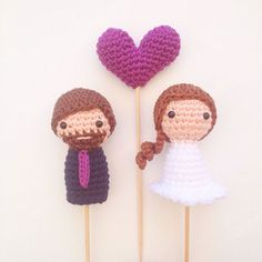 Got beard? No problem! MariGurumi Shop on Etsy ~ we ❤ this! moncheribridals.com