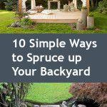Backyard updates, update your backyard, DIY backyard hacks, backyard hacks, outdoor living, popular pin, outdoor entertainment.