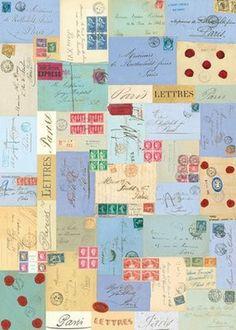Paris Letters Wrap (H5)
