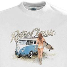 Men's RetroClassic Camper & Surf Chick