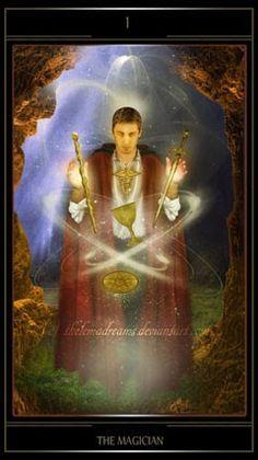 Bài dịch Lá I. The Magician - Thelema Tarot bài tarot