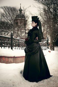 Stripy Tights and Dark Delights: Styles of Goth fashion: Victorian Goth Moda Steampunk, Style Steampunk, Steampunk Fashion, Steampunk Clothing, Neo Victorian, Victorian Steampunk, Victorian Fashion, Gothic Fashion, Emo Fashion