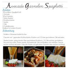 Avocado Garnelen Spaghetti ... und ... HIIT Workout - At Home
