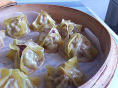Una receta fácil de dim sum de wantón chino