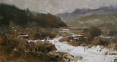 January by Tibor Nagy Oil ~ 9 x 16