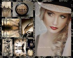 Natural black...... Collage Dreams Fbook: https://www.facebook.com/pages/Collage-dreams/639188992814078?sk=info&tab=page_info http://www.hetlijstjevanbrocante.nl/