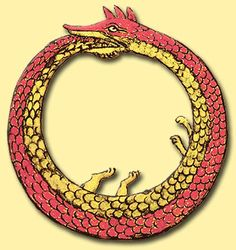 The Ouroborous - A symbol of life, death, and eternity.