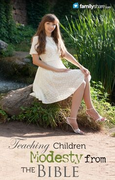 Teaching children modesty from the Bible