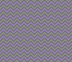 Robot Chevron (Purple) fabric by robyriker on Spoonflower - custom fabric