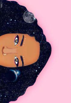 pop art to draw Black Girl Art, Black Women Art, Art Girl, Arte Black, Natural Hair Art, Art Africain, Afro Art, African American Art, Dope Art