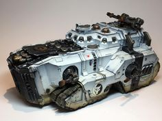 Luna Wolves Mastodon by Ben Poynter (So Awsome) Sons Of Horus, Warhammer Models, Space Wolves, Warhammer 40k Miniatures, Warhammer 40000, Space Marine, Toy Soldiers, Armored Vehicles, Cartography