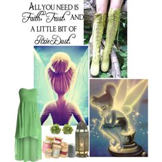 """""""I Do Believe In Fairies"""" by gipsy-dharma on Polyvore"""