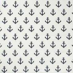 Caitlin Wilson Textiles: NAVY ANCHORS AWAY FABRIC make front pillow for Peter with one big anchor?