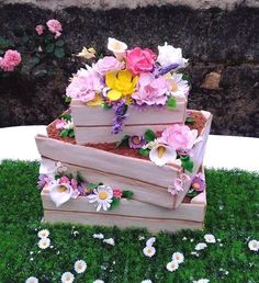 #it'sspring #cake #flowers