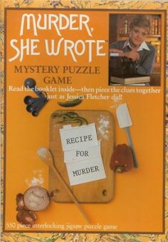 Amazon.com: Murder, She Wrote Mystery Puzzle Game: Toys & Games