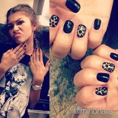 KC has short nails!! Z still looks FAB, even with short nails!