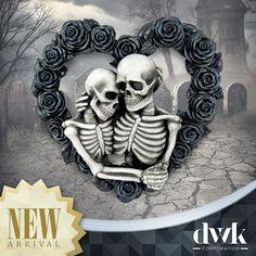 3 Wise Ghastly Skulls See Hear Speak No Evil Goth Skeleton Fantasy Gothic Statue
