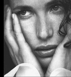 andi macdowell - her beauty is poetic