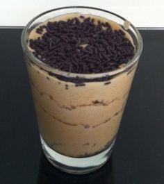 Copos de Mascarpone com cafè