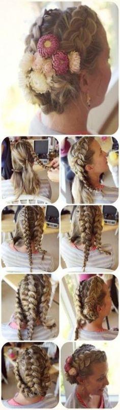 Best Photo Wedding hairstyles for kids flower girls dutch braids 15 ideas    Wed...#braids #dutch #flower #girls #hairstyles #ideas #kids #photo #wed #wedding # loose Braids for kids