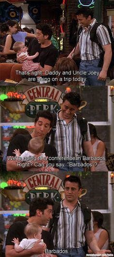 Joey Tribbiani: Barbados - friends,matt leblanc,david schwimmer