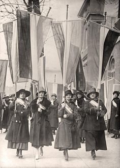 Woman Suffrage Picket, 1910s