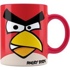 Caneca Personalizada Angry Birds Vermelho