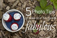 Specifically for the food bloggers out there, this tutorial has very appropriate tips for those who work with food for their blogs.