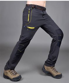 Aliexpress.com : Buy Free shipping Trousers Hiking pants men's outdoor anti UV…