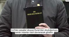 İncil Ayetleri Kur'an Zannedilince... - kureselajans.com-İslami Haber Medyası