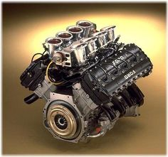 Ford Cosworth Double Four Valve Formula 1 Engine