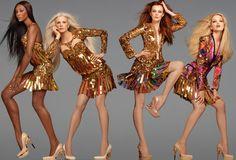 Roberto Cavalli SS 2012 by Steven Meisel    Models: Daphne Groeneveld, Karen Elson, Kristen McMenamy & Naomi Campbell