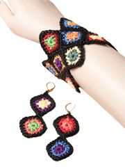 Granny Square Jewelry - Electronic Download