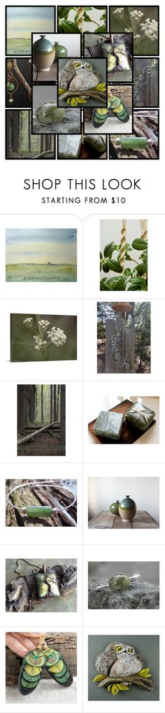 """Greenery"" by andreadawn1 ❤ liked on Polyvore"