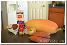 Sweet Coconut-Butternut Crockpot Soup | Recipes