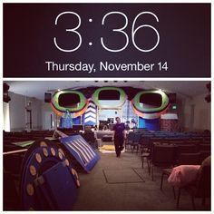 all torn down & loaded up at 3:36am...(always takes a little longer when we are at our home church)...(we chat & goof off more) :-) - - Hedgesville, WV - November 10-13 2013  - #hedgesvillechurch