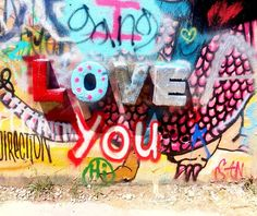 Love you, Mean it #designhistory #streetart #art #inspo #inspiration #truth #summer